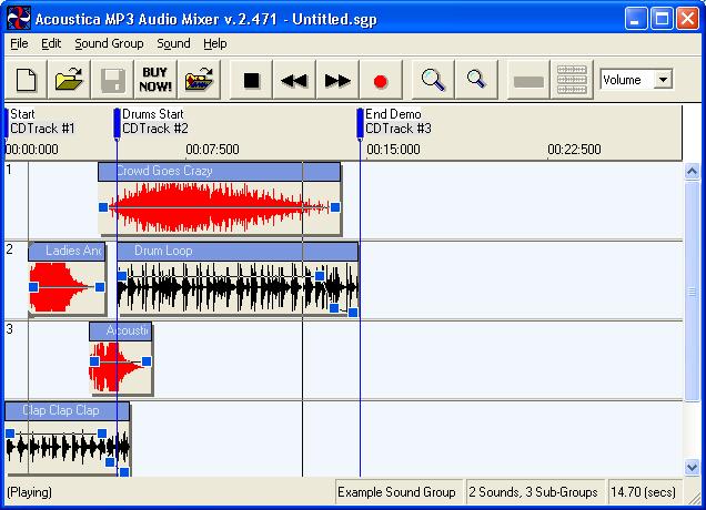 تحميل برنامج دمج الاغاني mp3 audio mixer