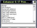 Enhancer presets
