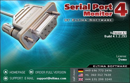 Правила сайта. Контакты. RSS 2.0. Правообладателям. Serial Port Monitor