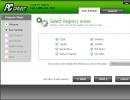 Registry Scan Settings