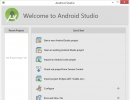 Android Studio Home