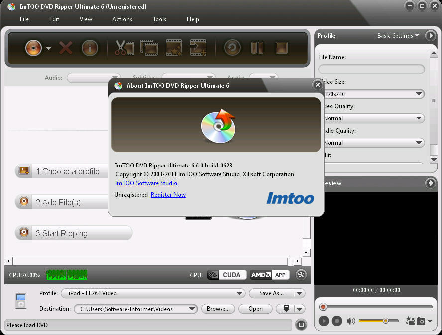 ImTOO DVD Ripper Ultimate 7.7.2.20130122.
