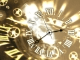 7art Gold Clock © 2011 by 7art-screensavers.com