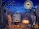 Happy Saint Halloween Clock Live Animated Wallpaper © StrikePill