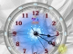 7art Crystal Clock © 2008 by 7art-screensavers.com