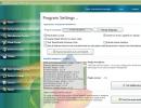 Program Settings