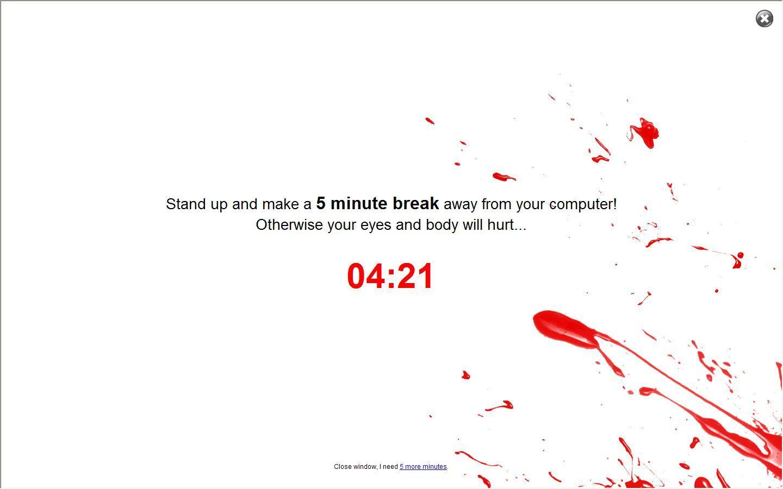 Break Start Window