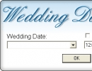 Defining wedding date and time