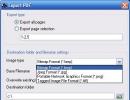 Exporting PDF as image