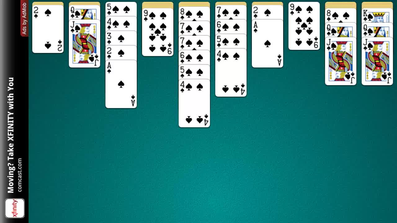 Play Spider Solitaire Cbs